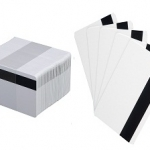 Mag stripe PVC card stock at IDCardGroup.com best prices