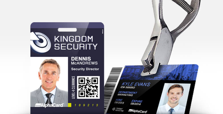How to Slot Punch ID Cards, from ID Card Group