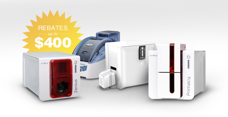 Limited Time Savings with Evolis Printer Rebates