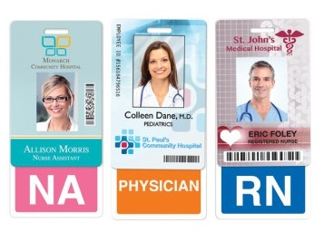New Badge Buddies - Clip-on Identifiers for Medical Staff ID