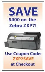 Save $400 on the ZXP7 at IDCardGroup.com in September