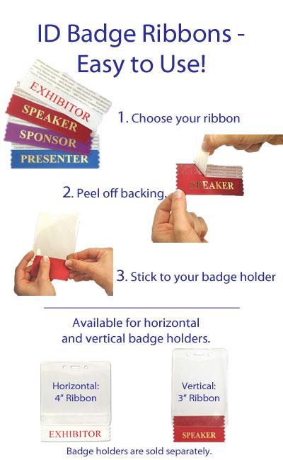 Blowout Savings: 35% Off ID Badge Holder Ribbons in April