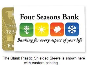 id card group blog blank plastic card sleeve is easily customized