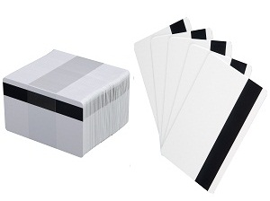 Magnetic stripe cards - swipe cards