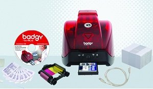The affordable Evolis Badgy - All-in-One card printer for up to 200 cards/year