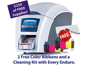 Get $250 in Free Supplies with a Magicard Enduro Single-Sided Printer - Now through May 31, 2012