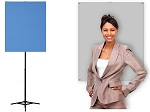 Portable Photo ID Backdrop with Stand & Optional Carrying Case