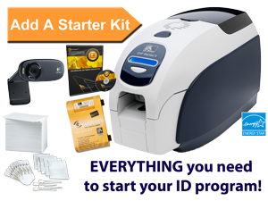Zebra ZXP Series 3 ID Card Printer - available with ID Card Group Starter Kits or standalone