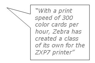 Get the best prices on the Zebra ZXP7 card printer at IDCardGroup.com
