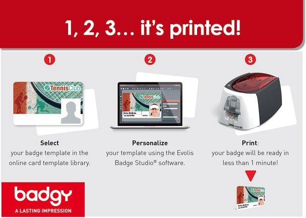 Evolis Badgy - Easy Badge Printing