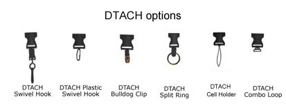 Lanyard Dtach Options