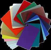 Color PVC Cards
