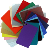 Color PVC Cards