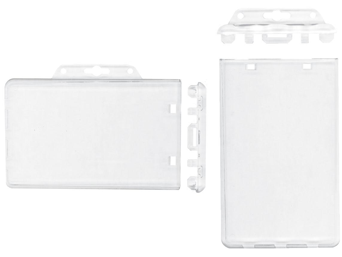 badge holders plastic id card holders - Plastic Card Holder