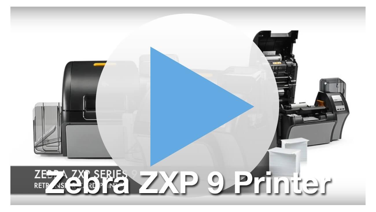 Zebra ZXP Series 9 ID Card Printer with Lamination