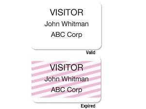 ONEstep Badge - Label Printer Adhesive