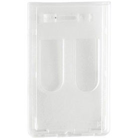Molded Rigid Plastic Prox Card Holder - 50 pack