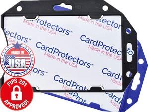 Shielded Rigid Plastic Badge Holder-50 pack