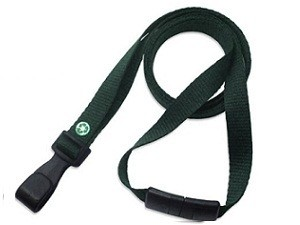 3/8 Recycled Plastic Lanyard-100 pack