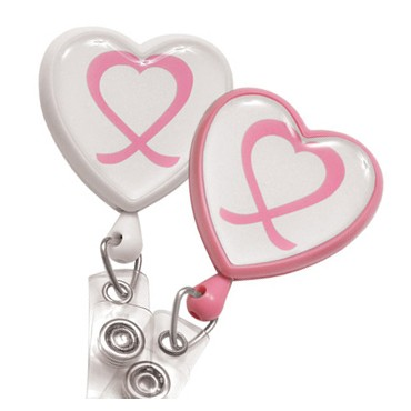 Awareness Heart Badge Reel – Pack of 25