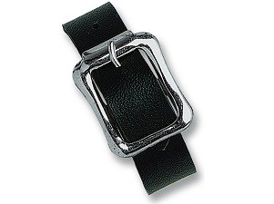 2420-2111 - 7 Black Vinyl Luggage Strap-5000 pack