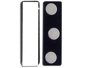 MagnaTrio Magnetic Badge Findings-Pack of 50