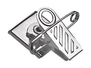 Ribbed Face Badge Clip 5735-2050-100 pack