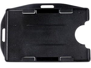Dual-Sided Rigid Plastic Badge Holder-50 pack