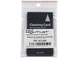 Evolis ACL006 Adhesive Cleaning Cards
