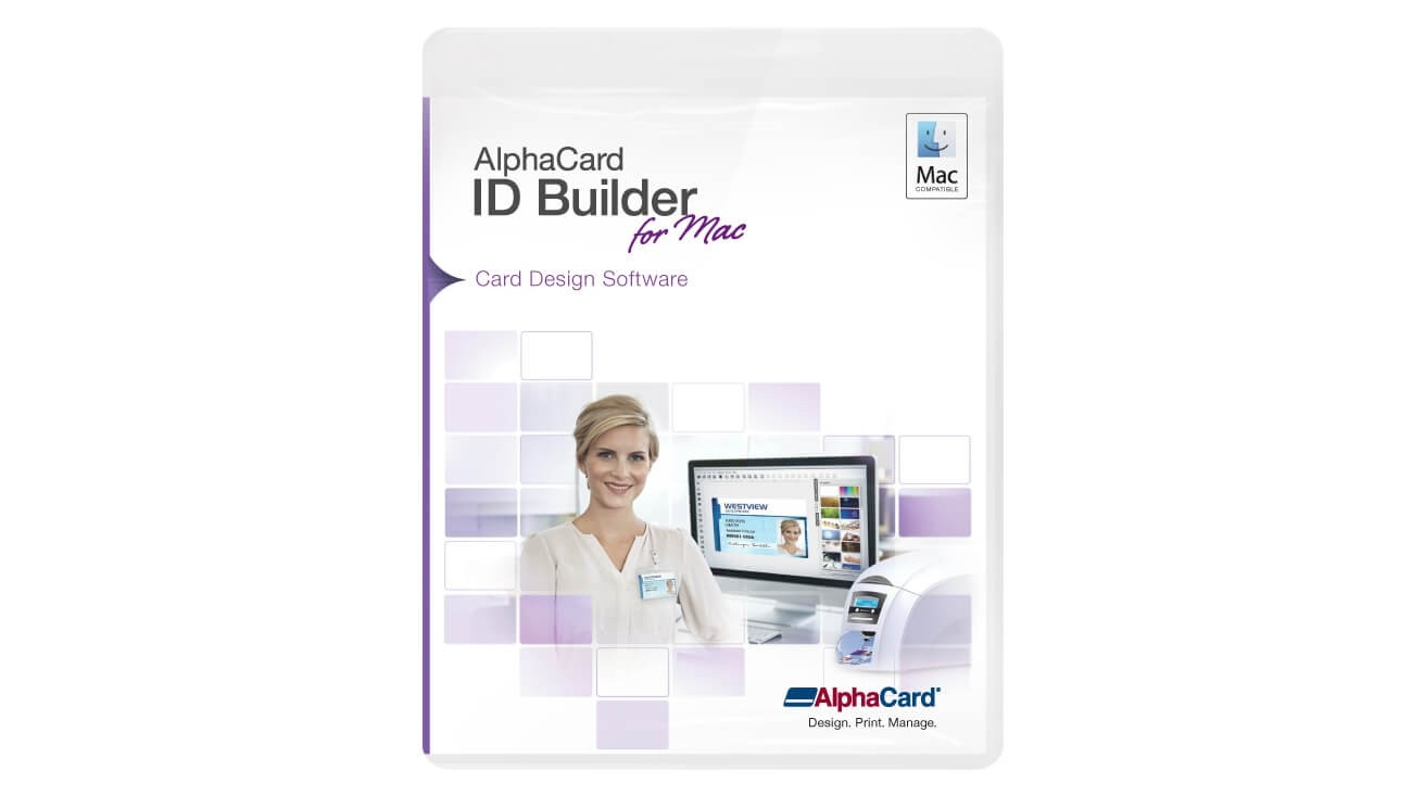 AlphaCard ID Builder for Mac Standard