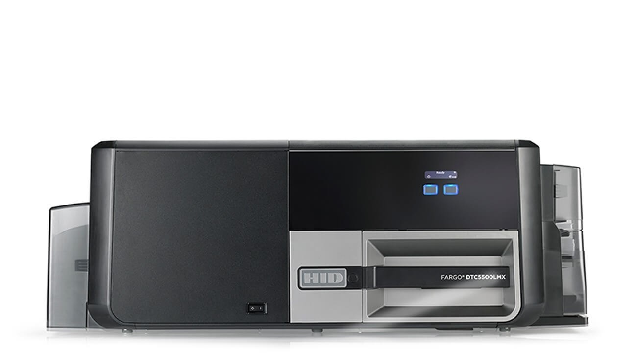 Fargo DTC5500LMX Dual-Sided ID Card Printer with Lamination