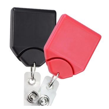 Premium Square No-Twist Badge Reel – Pack of 25