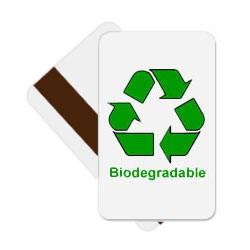 Standard CR80 30mil HiCo Mag Stripe bioPVC Cards
