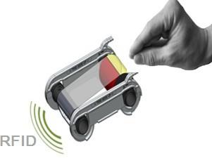 Evolis RCT014NAA Green Printer Ribbon