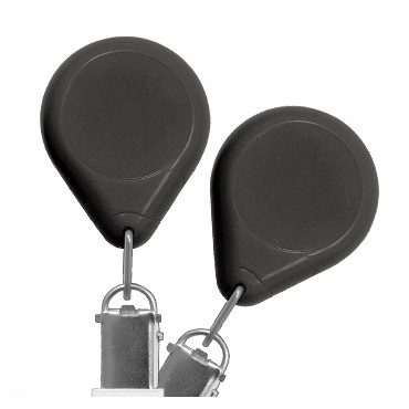 Premium No-Twist Badge Reel with Card Clamp – Pack of 25