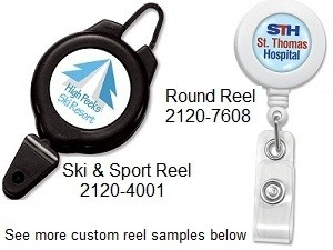 Custom-Printed Badge Reel