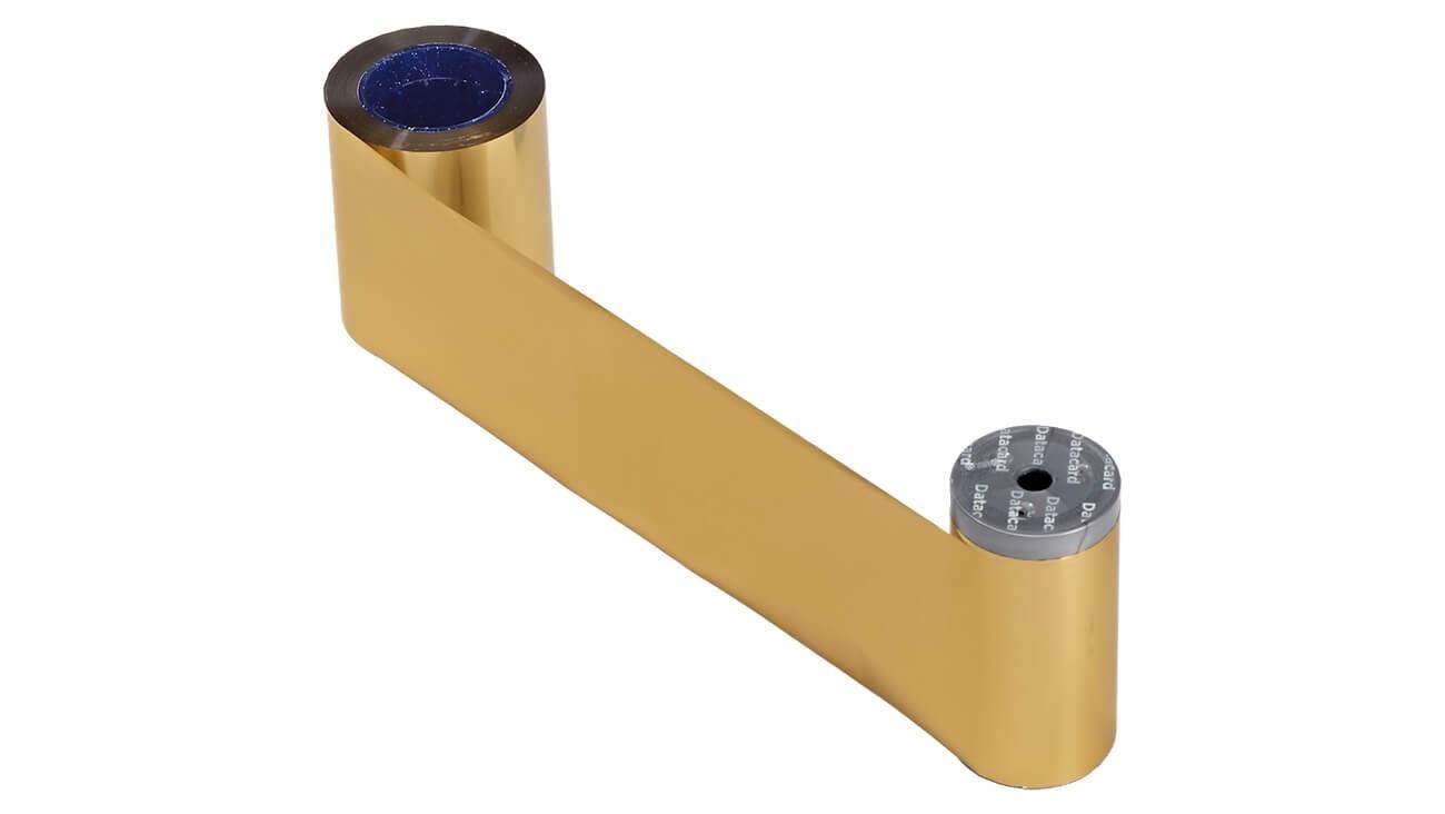 DataCard 532000-055 Metallic Gold Printer Ribbon