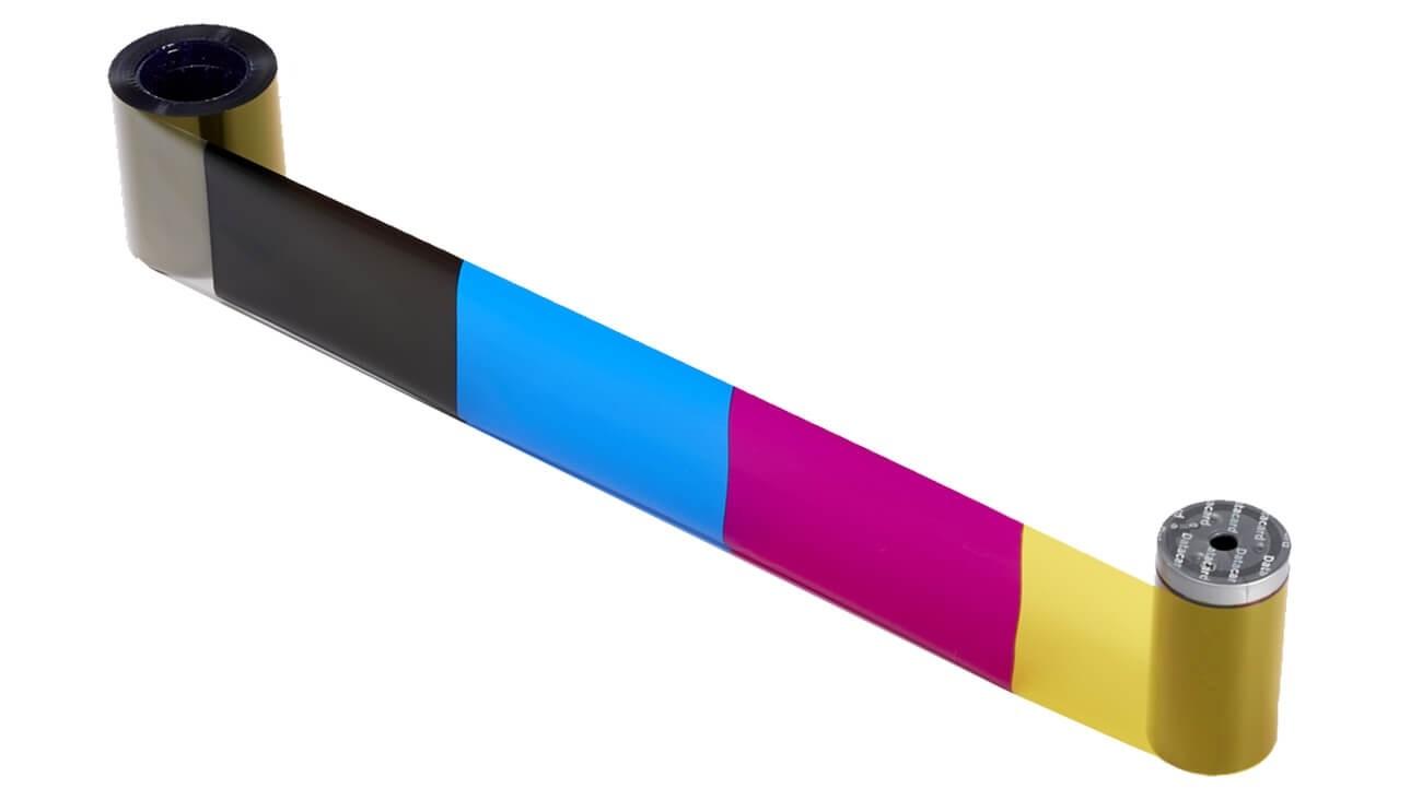 Datacard YMCK Ribbon – 500 Prints