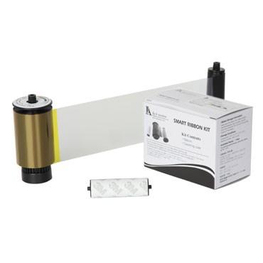 IDP 659000 SMART Printer Ribbon YMCFKO-UV