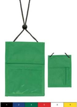 Multi-Pocket Credential Holder Wallet-100 pack