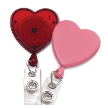 Heart Badge Reel – Pack of 25