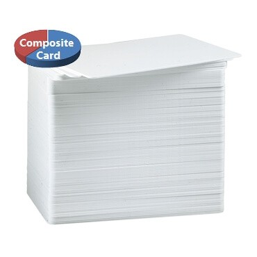 blank composite plastic cards 100 pack - Blank Plastic Cards