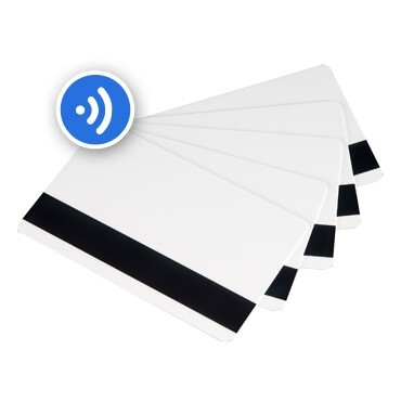 RFID Mag Stripe PVC Cards-100 pack