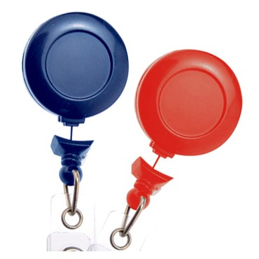 No-Twist Round Badge Reel – Pack of 25