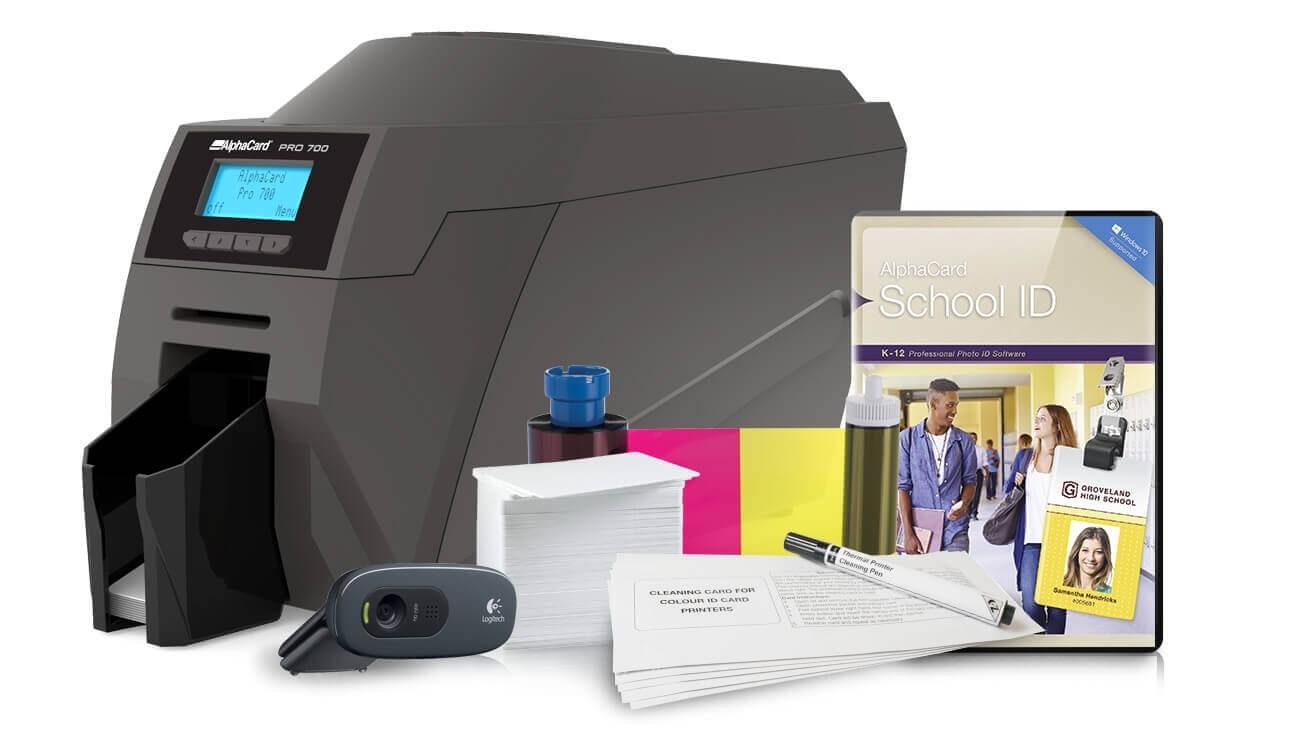AlphaCard PRO 700 School ID System