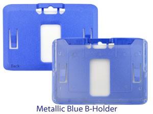 B-Holder Rigid Plastic Horizontal Holder-50 pack