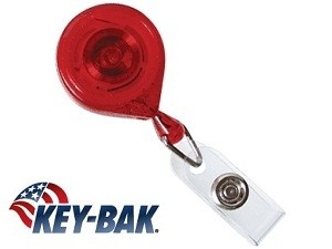 Classic Mini-Bak Badge Reels-25 pack