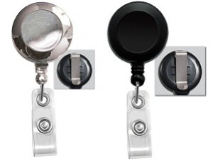 Round Badge Reel-Solid Colors-Pack of 25