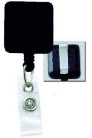Reinforced Vinyl Square Badge Reel -25 pack