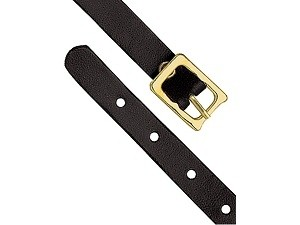 """4"""" Colored Leather Luggage Strap-25 pack"""